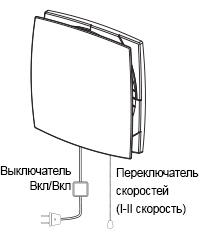 Управление  рекуператора ДОМОВЕНТ СОЛО РА1-35-9 Р
